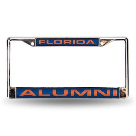 Florida Gators Player (Florida Gators Alumni Laser Chrome License Frame.  Free Screw Caps)