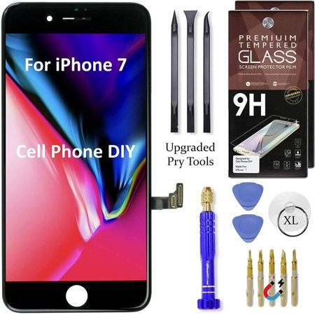 Cell Phone DIY Black LCD Screen Replacement Kit Compatible ...