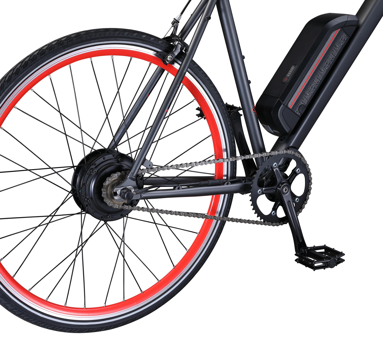 Fixie Electric Bicycle 700c Wheel Size Schwinn Monroe 250 Watt hub-Drive