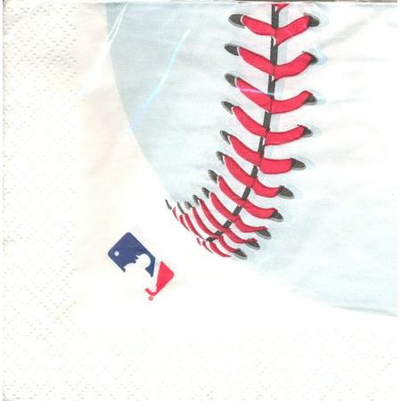 MLB Lunch Napkins (16ct) - Baseball Napkins