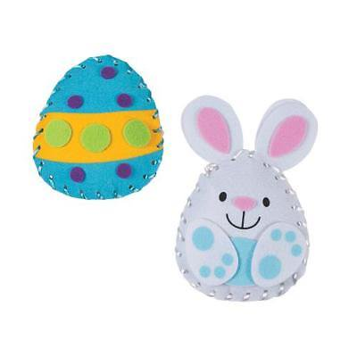 IN-13763413 Plush Easter Lacing Craft Kit