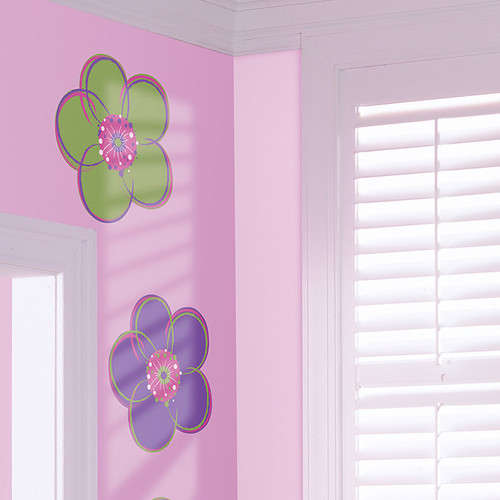 Brewster Home Fashions WallPops Dots Blox Stripes Poppy Wall Decal (Set of 16)