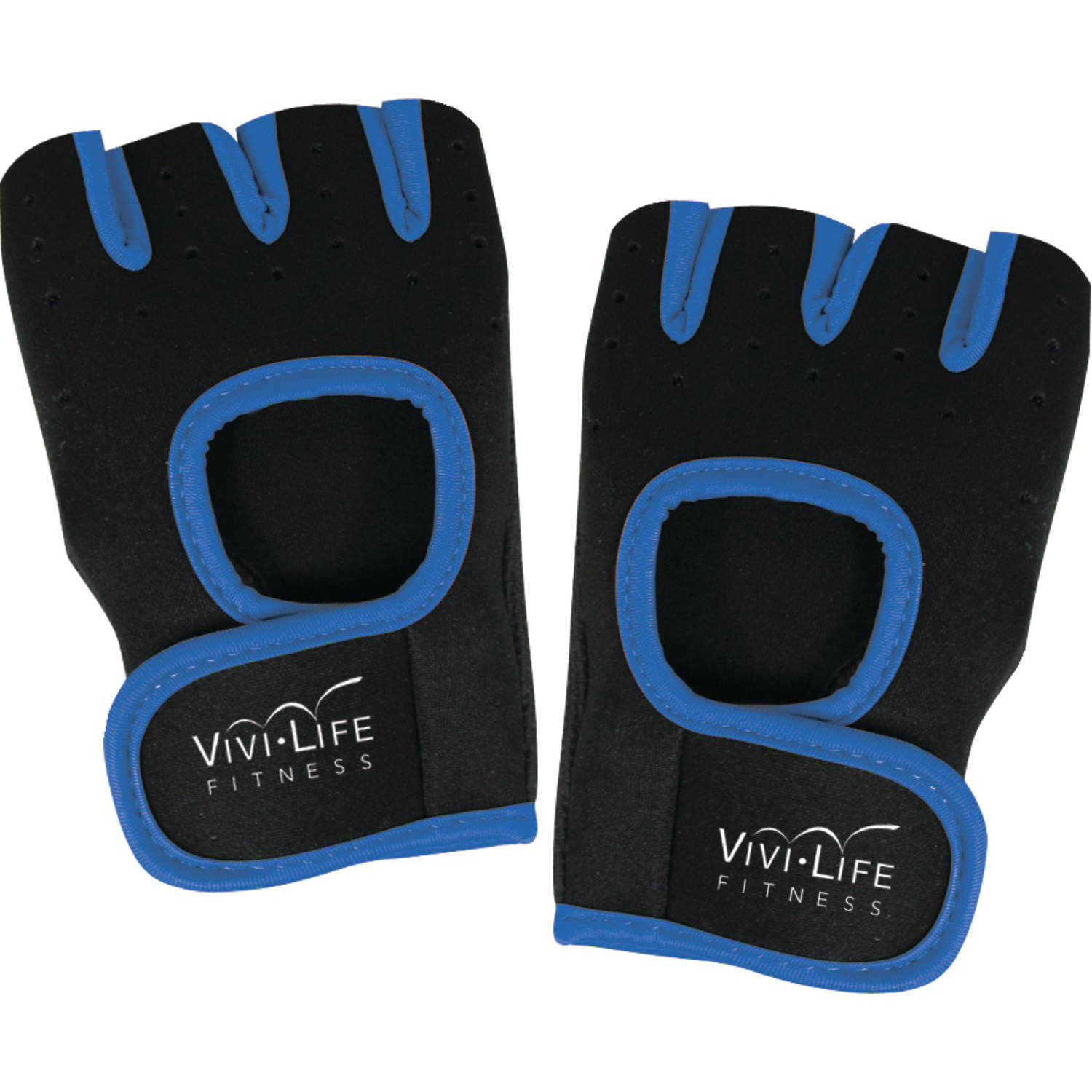 Vivi Life Pf-v8310-blu Workout Gloves, Blue
