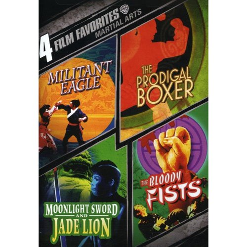 4 FILM FAVORITES-MARTIAL ARTS (DVD/2 DISC)