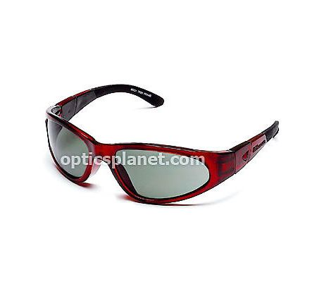 Body Specs BSG-2 Goggles, Black Frame / Smoke-Green Lens, w/ Clear & Light Rust