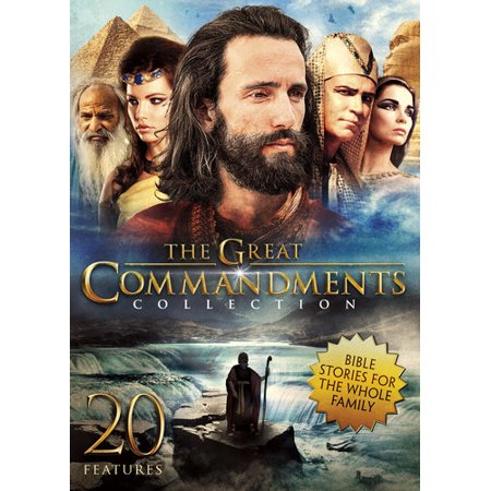The Great Commandments Collection (DVD) (The Ten Commandments For Kids)