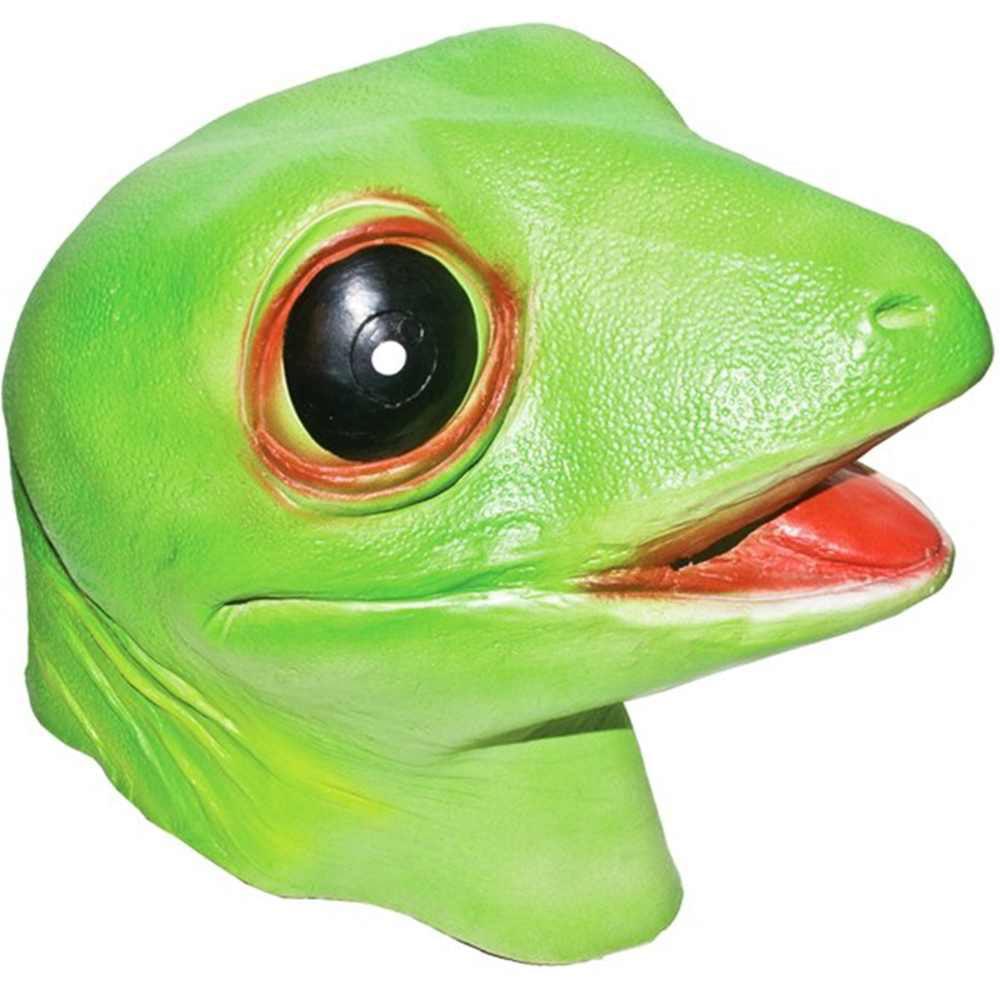Gecko Halloween Mask Animal Adult Costumes