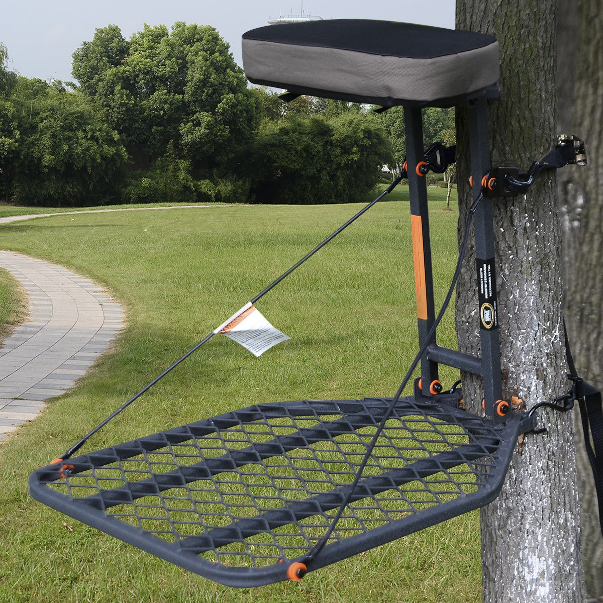 Hunting Tree Mount TreeStand Seat Cushion Safety Harness ...