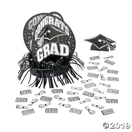 Graduation Table Decorations Ideas (Black Graduation Table Decorating)