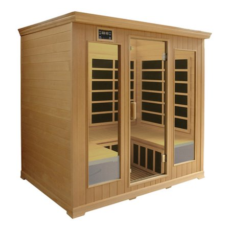Crystal Sauna Luxury Series 5 Person FAR Infrared Sauna