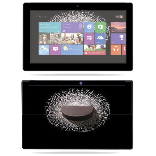 """Mightyskins Protective Skin Decal Cover for Microsoft Surface RT Tablet 10.6"""" screen wrap sticker skins Hockey"""