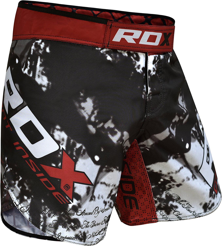 RDX Clothing MMA Training Shorts Cage Fighting Grappling Martial Arts Boxing Muay Thai Kickboxing