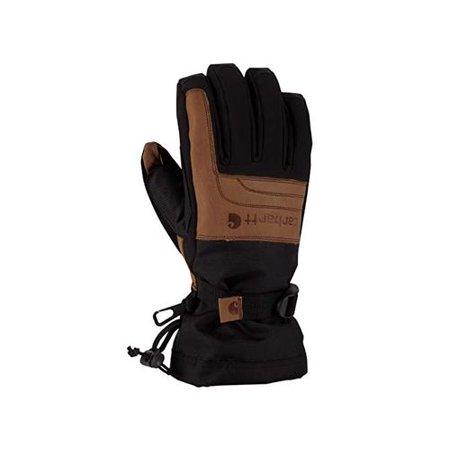 Carhartt Men's Vintage Cold Snap Insulated Work Glove,, Black/Barley, Size Large Carhartt Knit Glove