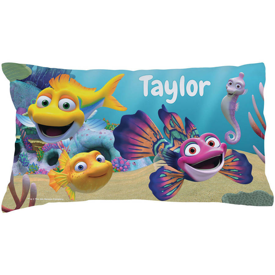 Personalized Splash And Bubbles Pillowcase