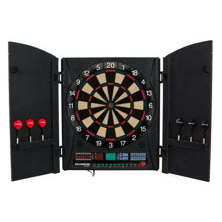 nid Marauder 5.0 Electronic Dartboard Cabinet Set (Arachnid Electronic)