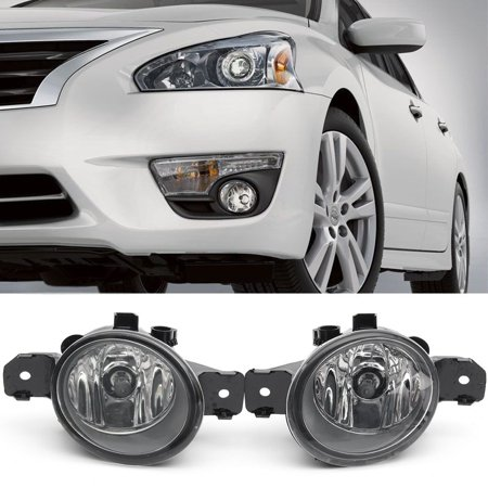 GTP Pair Bumper Fog Light Assembly For Nissan Altima Sentra Pathfinder Infiniti G37