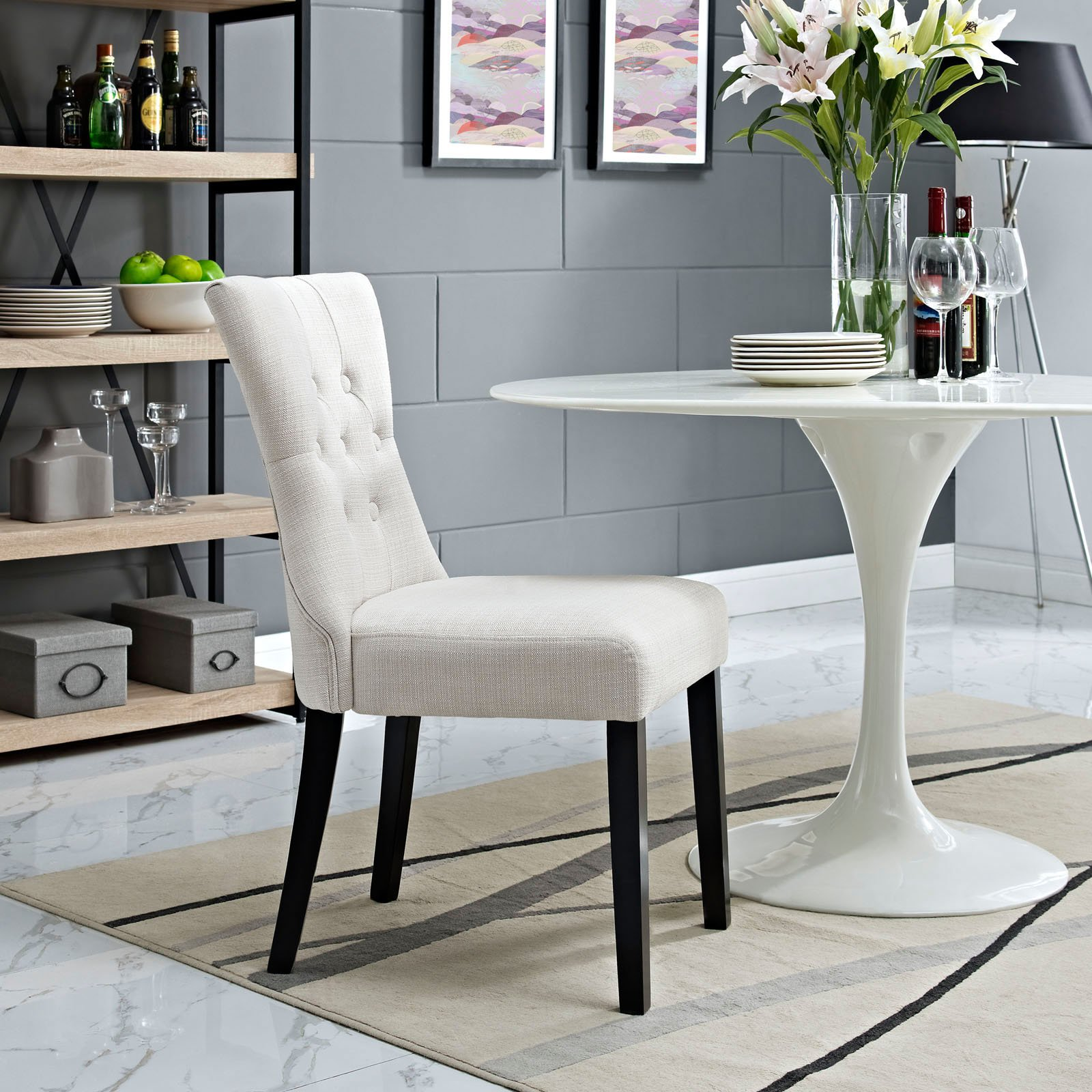 Modway Silhouette Dining Side Chair Multiple Colors Walmart