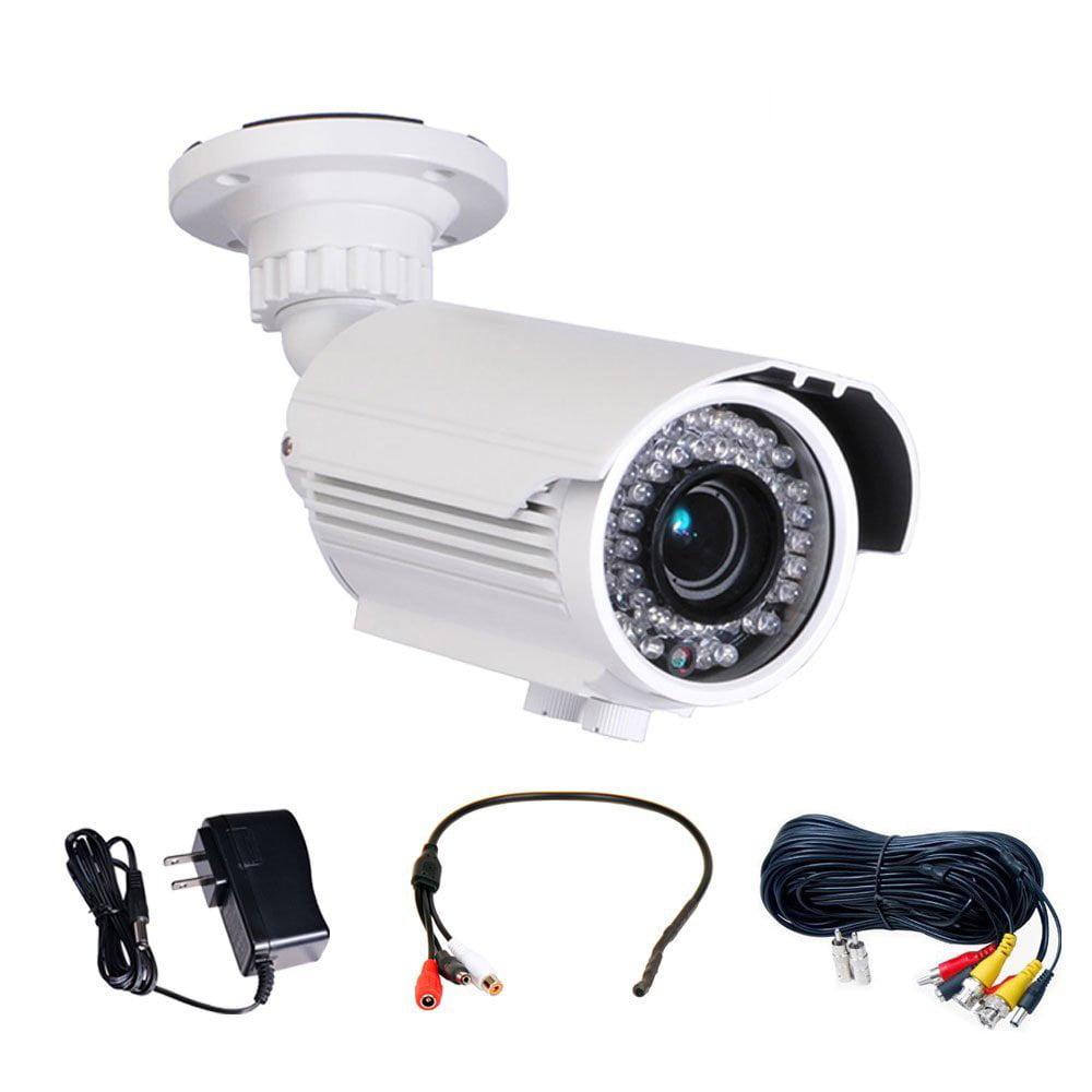 VideoSecu IR Day Night Outdoor Security Camera Built-in 1...