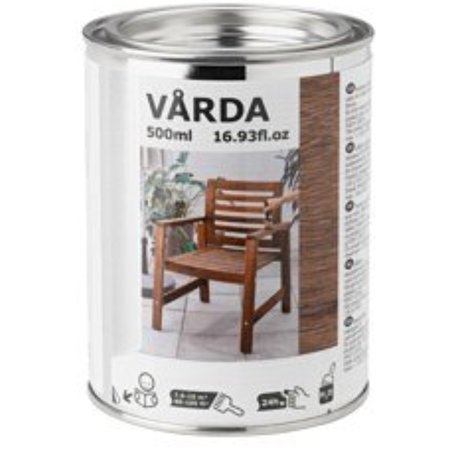 Ikea 2 Pack Wood stain, outdoor use, brown
