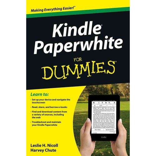 Kindle Paperwhite For Dummies