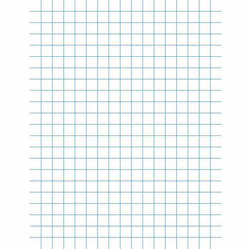 Graph paper walmart school smart 3 hole punched double sided punched grid paper with chipboard back 85 malvernweather Images