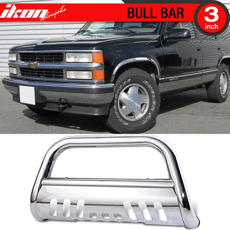 Fits 88-98 Chevy Gmc C/K 1500 95-99 Yukon 92-94 Jimmy Bull Bar Grill Push Guard