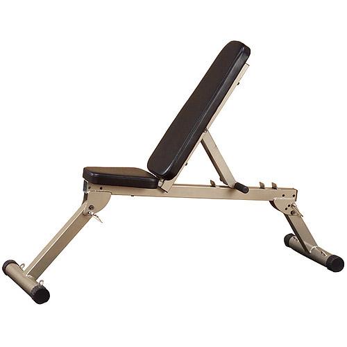 Best Fitness FID 10 Flat / Incline / Decline Folding Bench