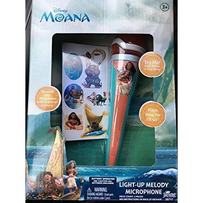 Moana Disney Light Up Melody Microphone