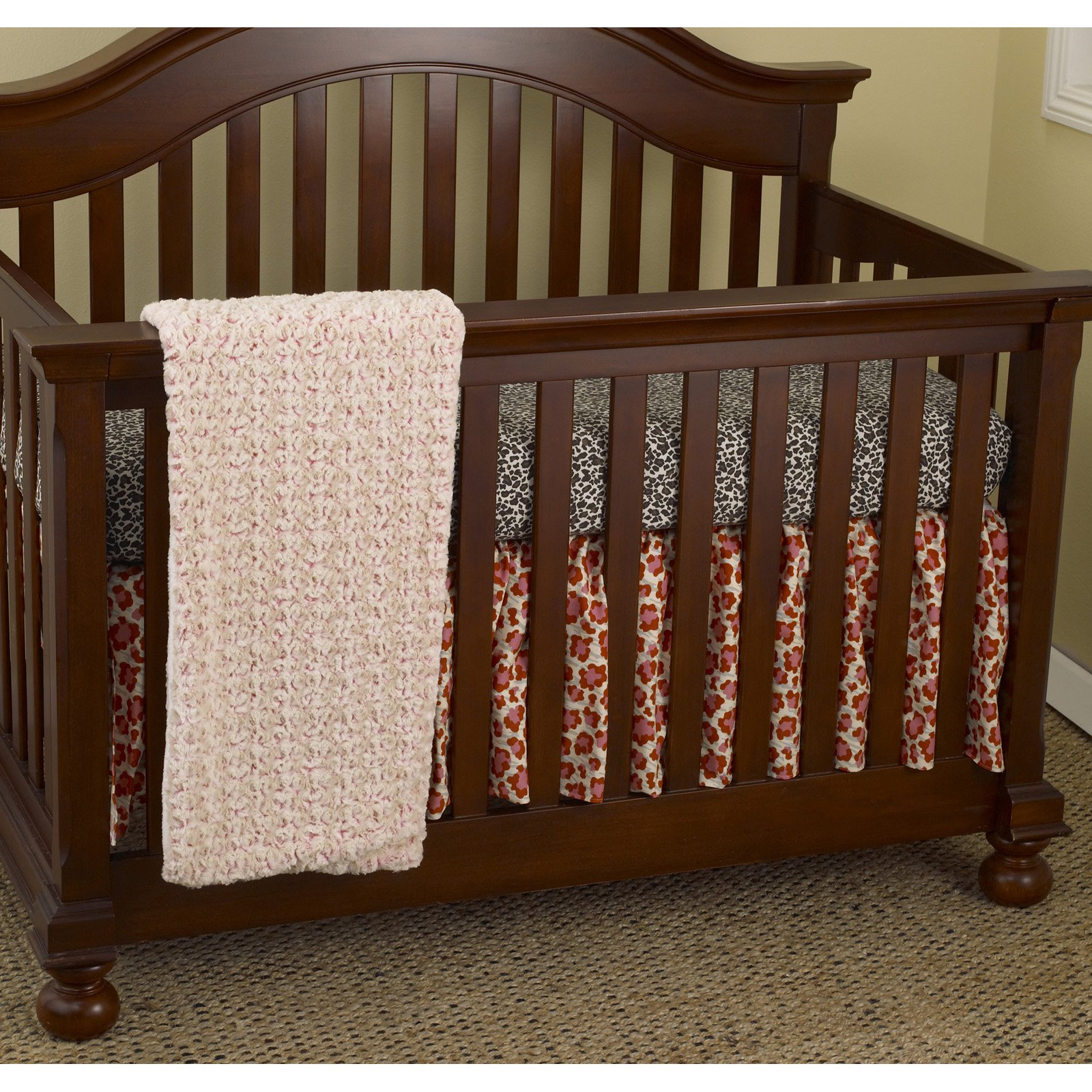 Cotton Tale Designs Here Kitty Kitty 3 Piece Crib Bedding Set