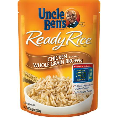 Uncle Ben's Ready Rice: Chicken Whole Grain Brown, 8.8oz