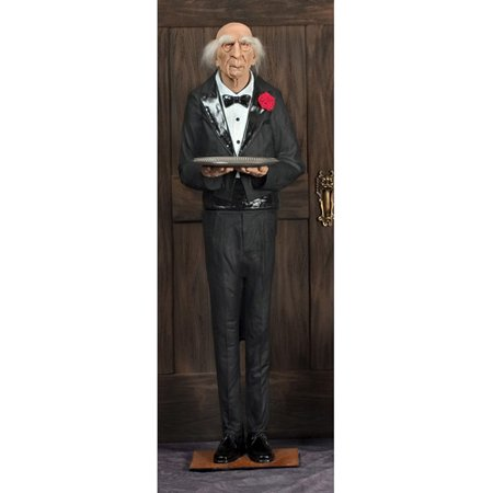 6' Dobson The Butler Halloween Prop - Amazon Uk Halloween Props