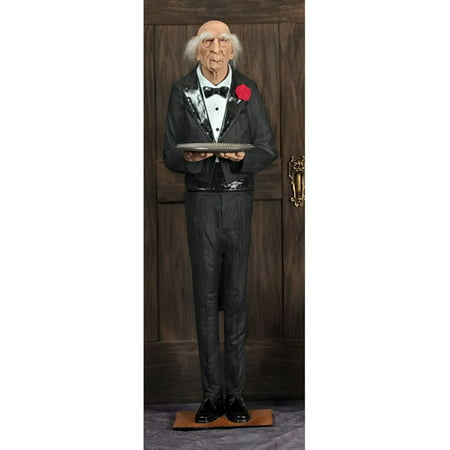 6' Dobson The Butler Halloween - Halloween Wholesale Props