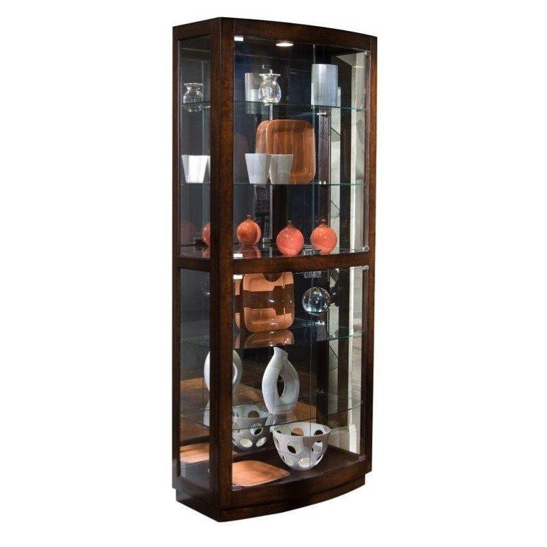 pulaski pacific heights curio cabinet - walmart