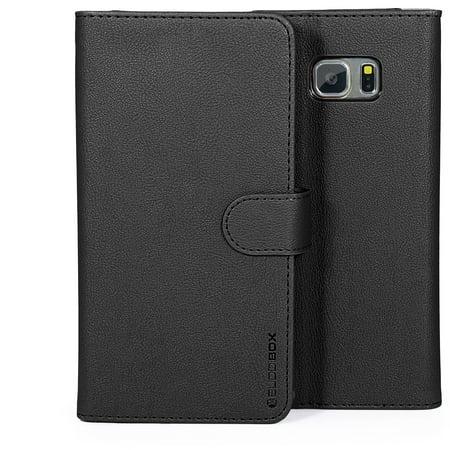 BUDDIBOX S6 EDGE PLUS Case Premium PU Durable Leather Wallet Folio Protective Cover Case for Samsung Galaxy S6 EDGE