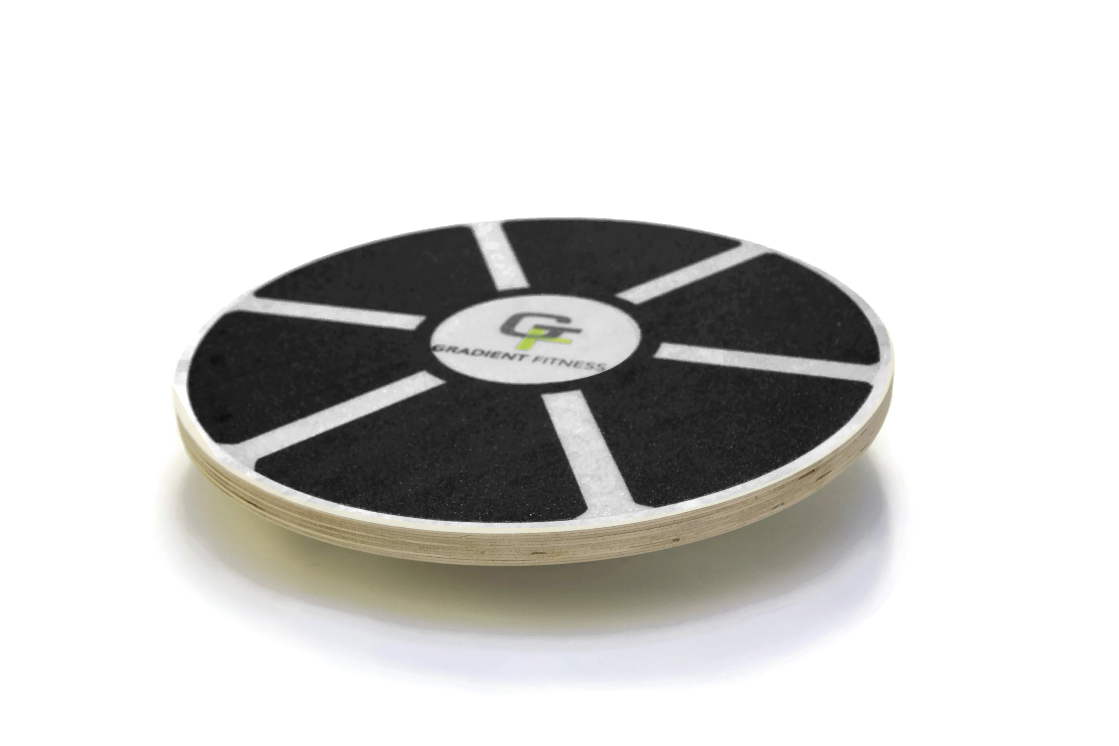 GF Balance Board, Wooden Wobble Board, Circular Non-slip Physical Therapy Exercise Tool by Gradient Fitness