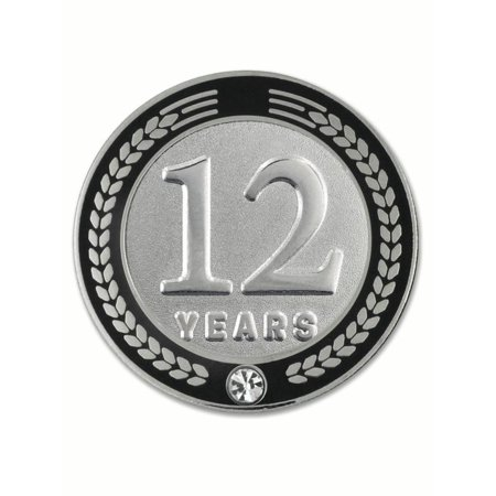 Recognition Gifts (PinMart's 12 Years of Service Award Employee Recognition Gift Lapel Pin -)