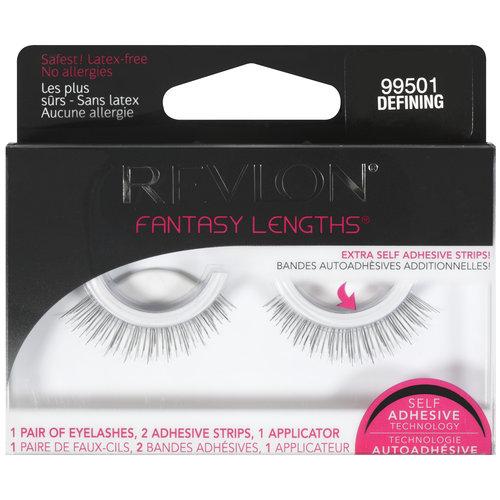 Revlon Fantasy Lengths Self Adhesive Eyelash Kit, 99501 Defining