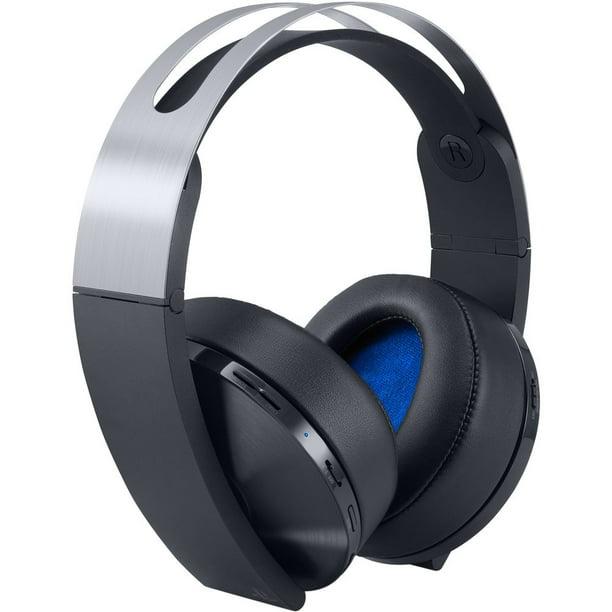 Sony Playstation 4 Wireless Platinum Headset Walmart Com Walmart Com