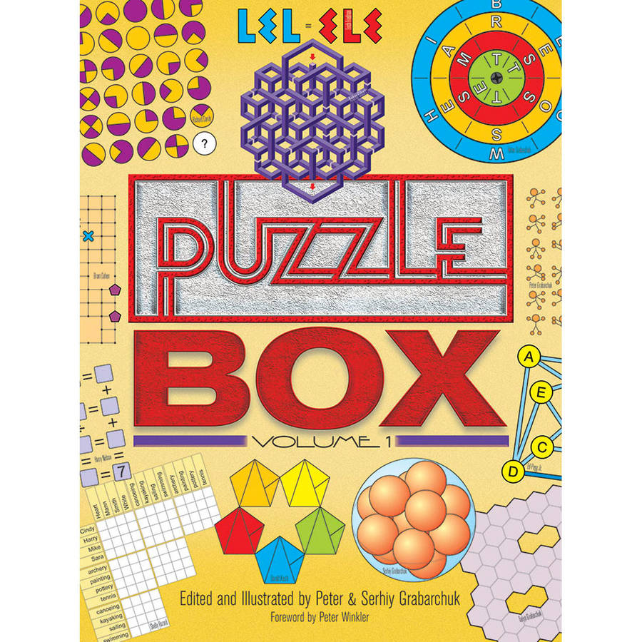Dover Publications Puzzle Box, Volume 1