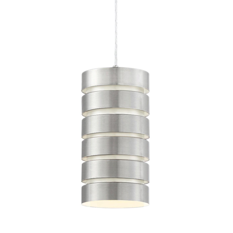 Picture of: Brushed Nickel Pendant Light Fixture Modern Industrial Hanging Kitchen Metal Led Chandeliers Ceiling Fixtures Home Garden