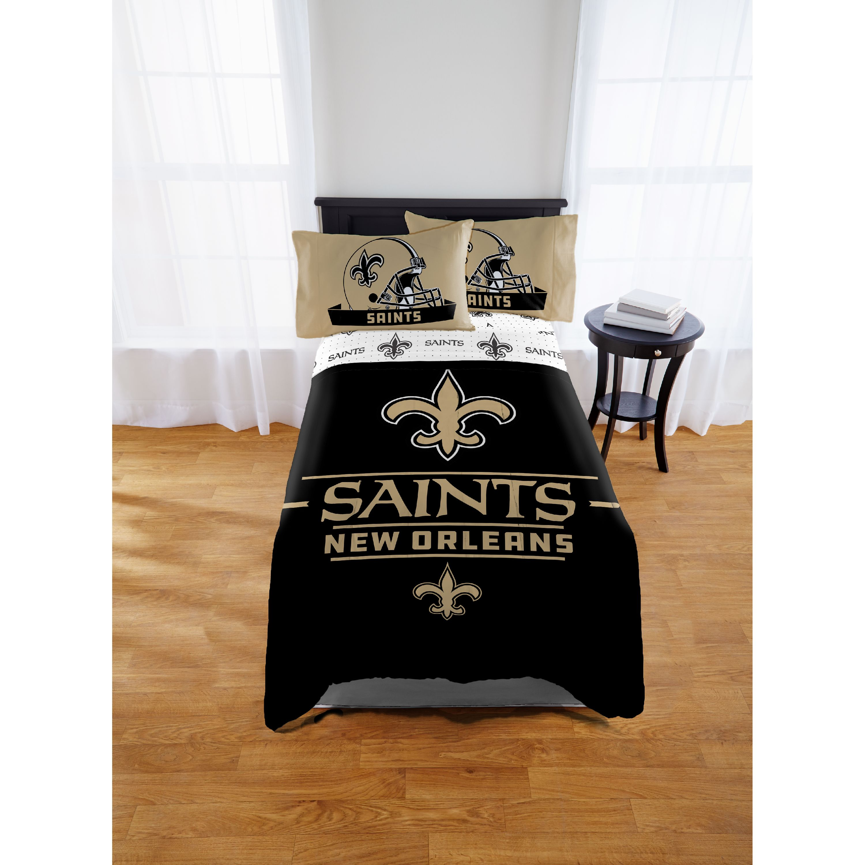 NFL New Orleans Saints Monument Twin/Full Comforter Set, 1 Each