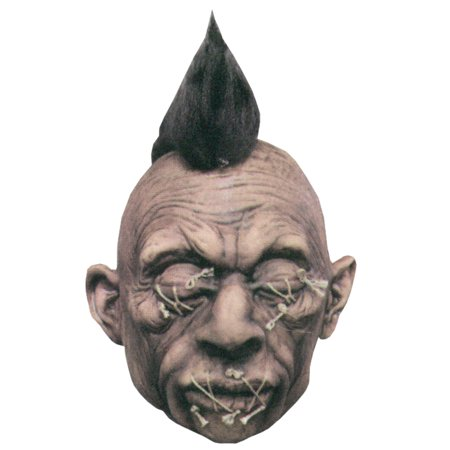 Shrunken Head Halloween Prop Latex Realistic Detail Haunted House Decoration - Beetlejuice Head Shrunken