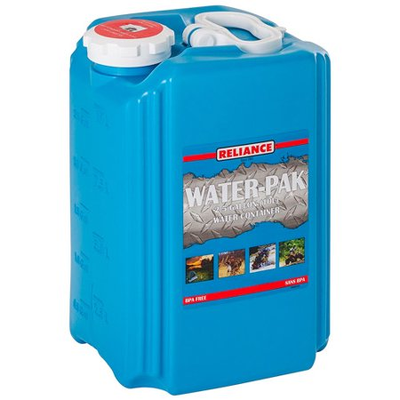 Reliance Series (Reliance Water-Pak Water Container)
