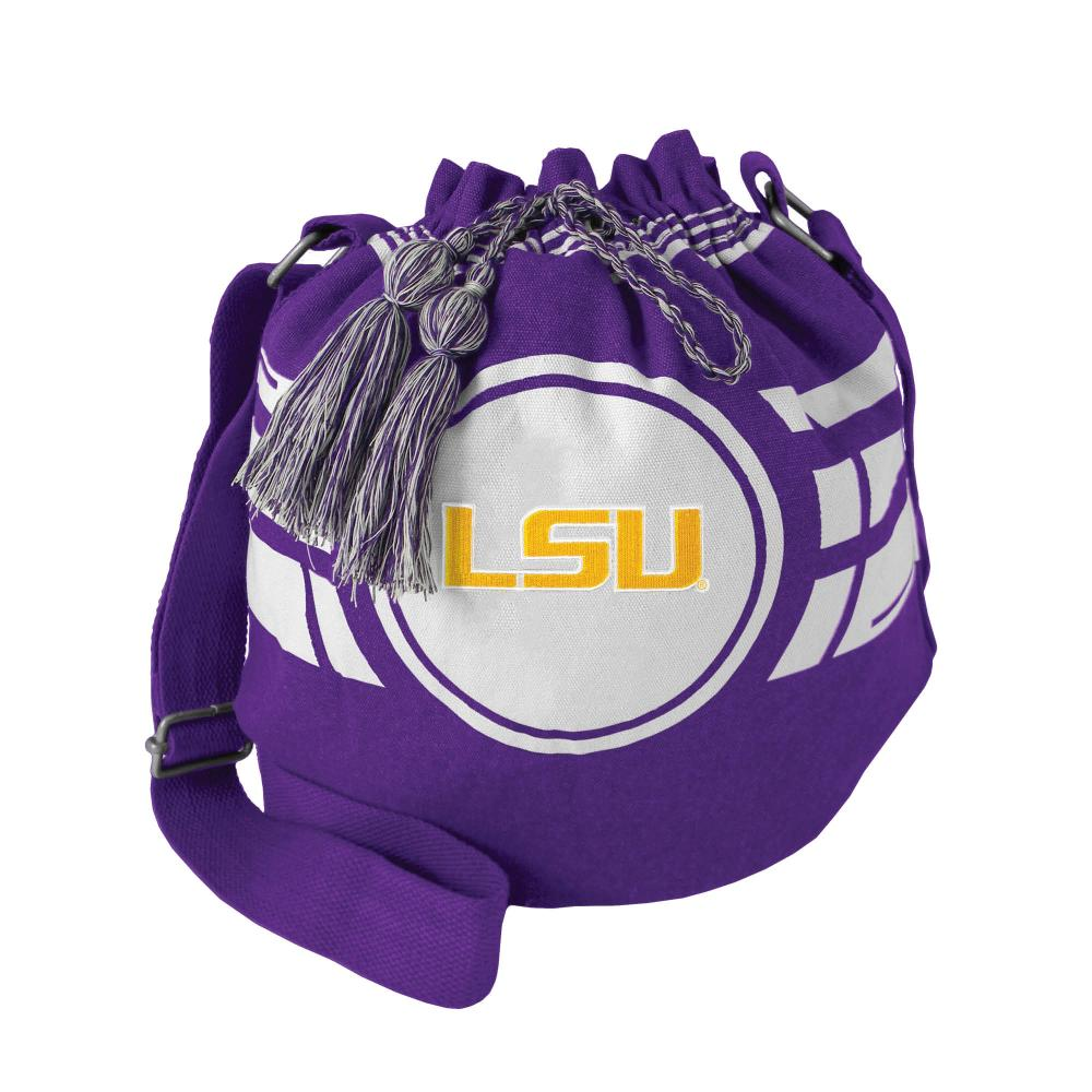 LSU Ripple Drawstring Bag