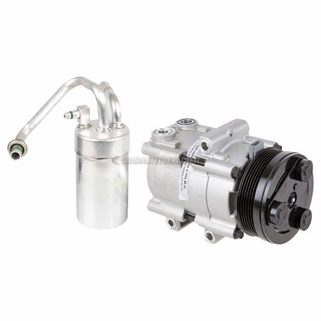 AC Compressor w/ A/C Drier For 2000 Ford Mustang SVT Cobra (2000 Ford Mustang Svt Cobra R For Sale)