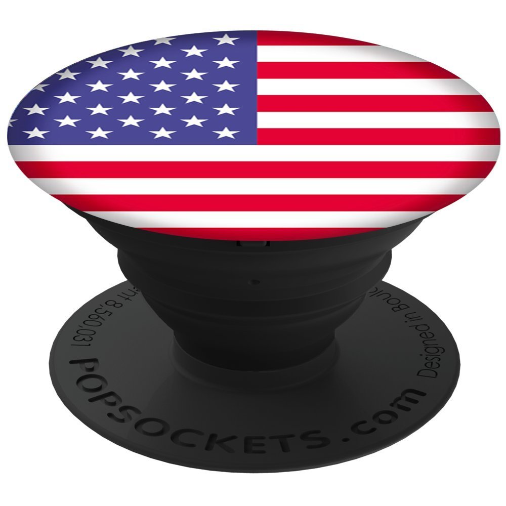 Cp Popsocket Phone Grip & Stand -  American Flag - Accessory by PopSockets (101120)