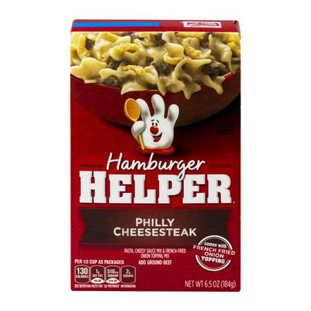 Hamburger Helper Philly Cheesesteak  6 5 Oz