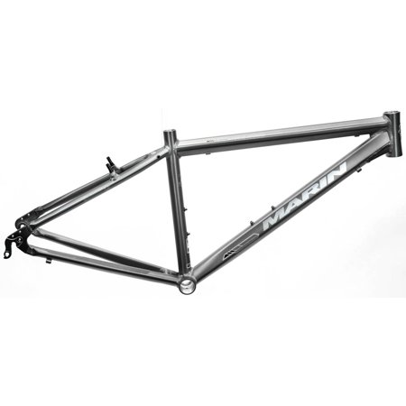 17 5  Marin Corte Madera Hybrid City 700C Bike Frame Grey Alloy V Brake Nos New