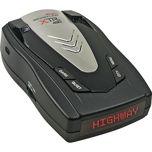 Buy Whistler XTR-430 Laser Radar Detector w  Total Band Protection by Whistler
