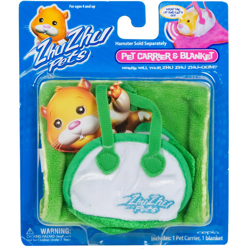 Zhu Zhu Pets Hamster Carrier, Green